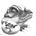 Baby Dinosaur by Murphy Elliott