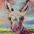 Baby Donkey Painting By Kim Guthrie Art by Kim Guthrie