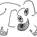 Baby Elephant by Sarah Loft