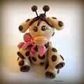 Baby Giraffe by Trina Prenzi
