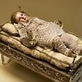Baby Jesus In Lace by Lorraine Devon Wilke
