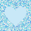 Baby Loves Blue Heart by Isabella Howard