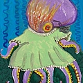 Baby Octopus In A Dress by JoLynn Potocki