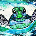 Baby Sea Turtle by Dana Sardano
