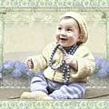 Baby Wears Beads by Adele Aron Greenspun