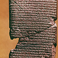 Babylonian Clay Tablet by Granger