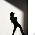 Bacchus Statuette Shadow Silhouette by Stan  Magnan