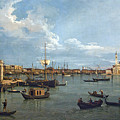 Bacino Di San Marco From Canale Della Giudecca by Peter Barritt