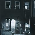 Back Door To The Wine Shop by Jim Furrer