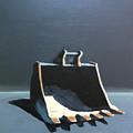 Back Hoe Bucket 2 by Jeffrey Bess