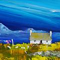 Back  Of Keppoch Cottage, Arisaig by Peter Tarrant