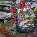 Back Porch Garden by Mary Sonya  Conti