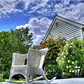 Back Porch In Summer by Tammy Wetzel