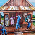 Back Porch Jamming by Arthur Covington