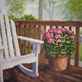 Back Porch by Shirley Braithwaite Hunt