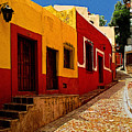 Back Street Guanajuato by Mexicolors Art Photography