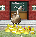 Back To School Little Duckies by Gravityx9 Designs