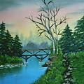 Back Woods Bridge by Jim Saltis