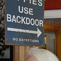 Backdoor by Shirley Goss