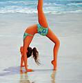 Backflip At The Beach by Carolyn Shireman