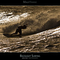 Backlight Surfing - Maui Hawaii Posters Series by Denis Dore