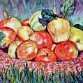 Backyard Apples by Cynthia Pride