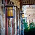 Backyard Lanterns by Randy Brownlee