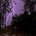 Backyard Lightning by Christopher Holmes