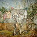 Backyard O by Joseph Sandora Jr