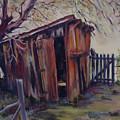 Backyard Shed by Charme Curtin