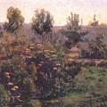 bacon garden landscape c1894 Henry Bacon by Eloisa Mannion