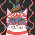 Bad Cattitudes Birthday by Kathleen Sartoris