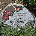 Badger Rose Bowl Win 1999 by Tommy Anderson