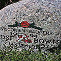 Badgers Rose Bowl Win 1994 by Tommy Anderson
