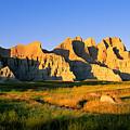 Badlands Buttes, South Dakota by Buddy Mays