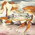 Badlands Horses by Angelina Benson