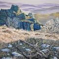 Badlands Morning by Jim Olheiser