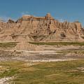 Badlands National Park In South Dakota by Brenda Jacobs
