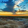 Badlands Np Wilderness Overlook 1 by Donald Pash