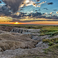 Badlands Np Wilderness Overlook 2 by Donald Pash