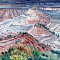 Badlands Of South Dakota by Donald Maier