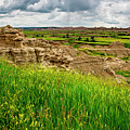 Badlands Outcropping by Andy Crawford