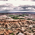 Badlands Panorama by Jeff Swan