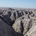 Badlands S.dakota Landscape  by Caroline Kohler