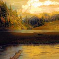 Bagley Lake by Sandra Peery