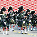 Bagpipers by Lise Winne