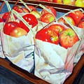 Bags Of Apples by Constance Drescher