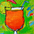 Bahama Mama - Tropical Drink by Patricia Awapara
