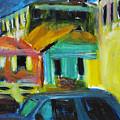 Bahamas Buildings by Bob Dornberg