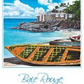 Baie Rouge Poster by Cindy D Chinn